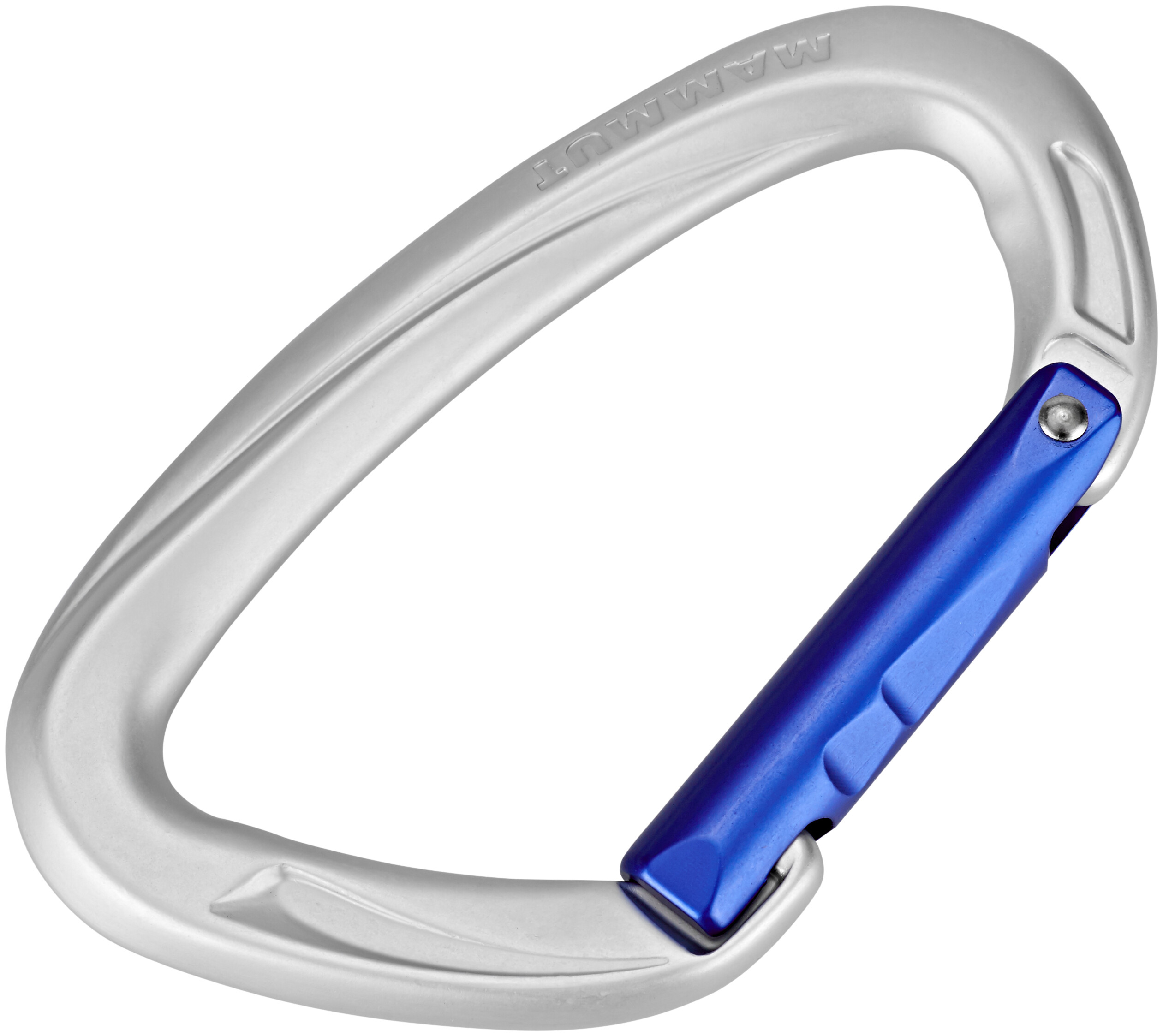 Silver CAMP Orbit Straight Gate Carabiner